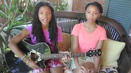 wrecking ball (miley cyrus cover) - chloe and halle