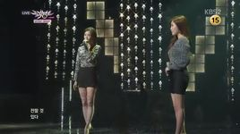 the letter (131129 music bank) - davichi