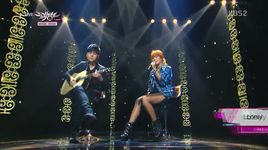 lonely & one way love (131129 music bank) - hyolyn