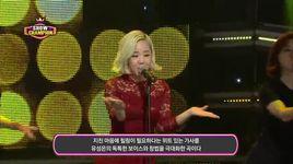 healing (131204 show champion) - yoo sung eun