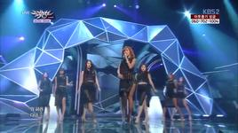 one way love (131206 music bank) - hyolyn