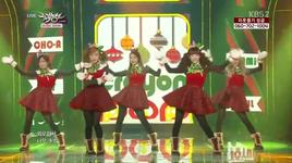 lonely christmas (131206 music bank) - crayon pop