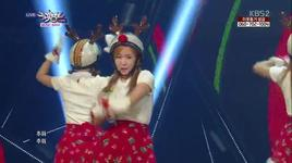 lonely christmas (131213 music bank) - crayon pop