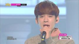 miracle in december (131214 music core) - exo