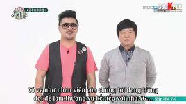weekly idol (tap 124) (vietsub) - v.a, g-dragon (bigbang)