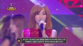one way love (131218 show champion) - hyolyn