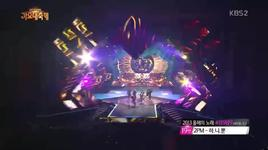 miss right & rocking (131227 kbs gayo daejun) - teen top