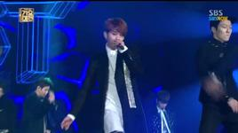 shadow & beautiful night (131229 sbs gayo daejun) - beast