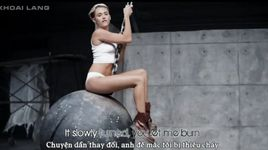 wrecking ball (vietsub, kara) - miley cyrus