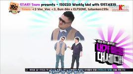 weekly idol (tap 83) (vietsub) - v.a, sistar19