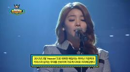 singing got better (140122 show champion) - ailee