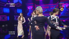 something (140124 music bank) - girl's day