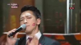 la song (140124 music bank) - rain - rain