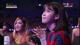 140212 3rd gaon chart kpop awards - iu