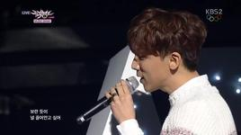some (140214 music bank) - soyou, junggigo