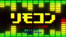 remote control (project diva f) - hatsune miku, kaito v3