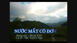 nuoc mat co don (handmade clip) - ma tuyet nga