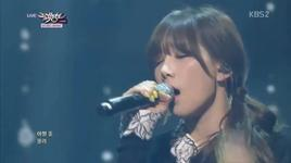 breath (140228 music bank) - tae yeon (snsd),