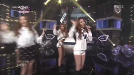 thank u so much (140228 music bank) - bestie