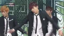 boys in luv (140228 music bank) - bts (bangtan boys)