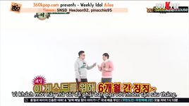 weekly idol (tap 76) (vietsub) - v.a, ailee