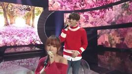 some (140314 music bank) - junggigo, soyou