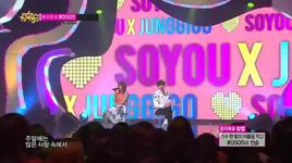 some (140315 music core) - junggigo, soyou