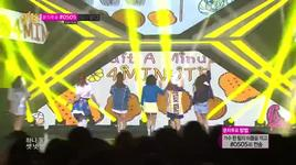 wait a minute (140322 music core) - 4minute