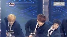 boy in luv (140321 music bank) - bts (bangtan boys)