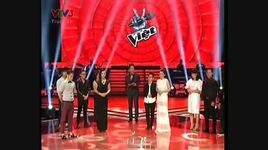 cong bo ket qua doi quoc trung & hong nhung liveshow 3 the voice 2013 - v.a