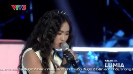 i don't want to miss a thing - nguyen nhat thu (the voice 2013 vong do van) - v.a