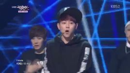 look at me now (140411 music bank) - speed