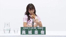 akicha 6th ssk promotion speech - akb48