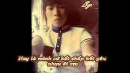 minh yeu nhau di (rap version) (lyric) - p.o.n, windy