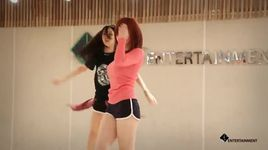 good night kiss (dance practice) - hyo sung (secret)