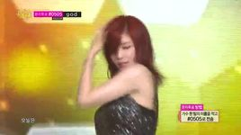 i hate night time (140517 music core) - hyo sung (secret)