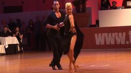 cha cha cha - michael malitowski & joanna leunis (euro dance festival 2014) - dancesport