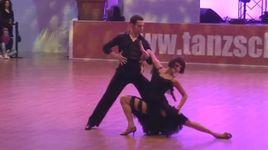cha cha cha - ekaterina vaganova & phillipp yelizarov (euro dance festival 2014) - dancesport