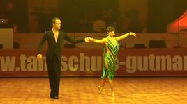 samba - franco formica & olga muller omeltchenko (euro dance festival 2013) - dancesport