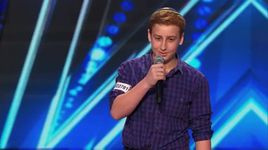 12-year-old standup comedian gets naughty (america's got talent 2014 - audition) - josh orlian - v.a