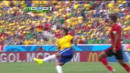 neymar tit ngoi, brazil bat luc truoc nguoi nhen ochoa - v.a