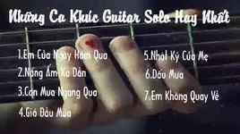nhung ca khuc guitar solo hay nhat - v.a