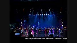 xinh tuoi viet nam (live) - v.music
