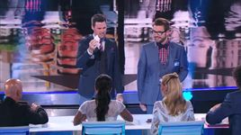 magic duo predicts the future with a tweet (america's got talent 2014 - audition) - david and leeman - v.a
