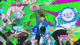 her (140802 music core) - block b