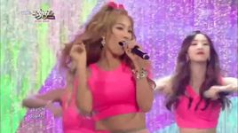 touch my body (140801 music bank) - sistar