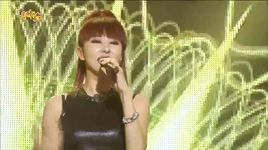 goodbye my love (140809 music core) - kim wan sun
