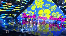 touch my body (140816 music core) - sistar