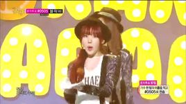 my copycat (140823 music core) - orange caramel
