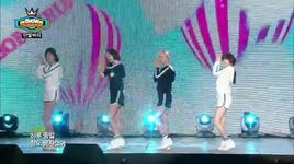oh my god (140812 show champion) - bob girls